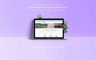 Restylen site Ondernemersvereniging Gooisekant